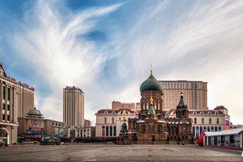黑龙江城市面积